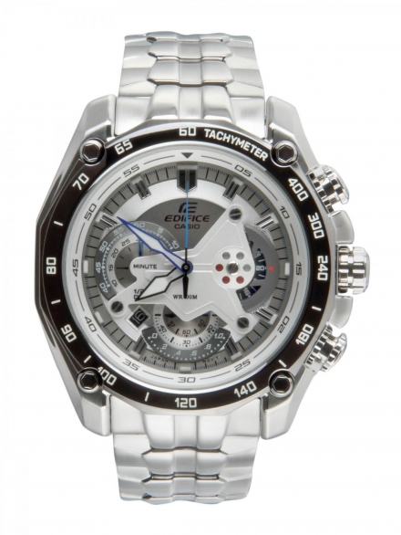 Silver Chrome Watch